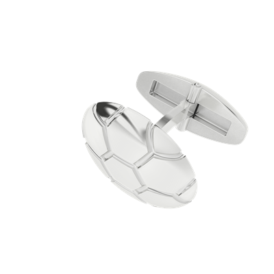 For the man in your life: Soccer Ball Cufflinks Silver $208.95