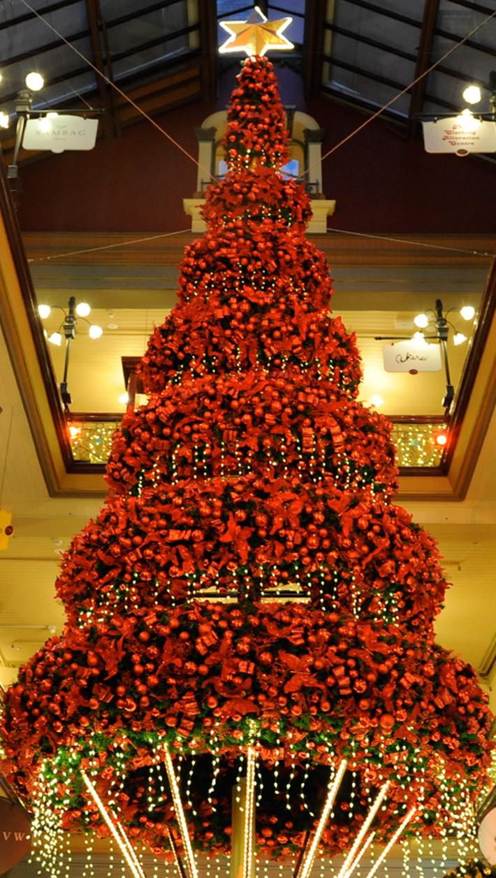 Strand Arcade Xmas Tree