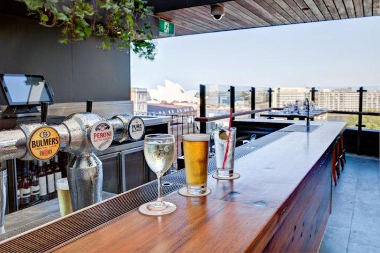 The Glenmore Rooftop Bar
