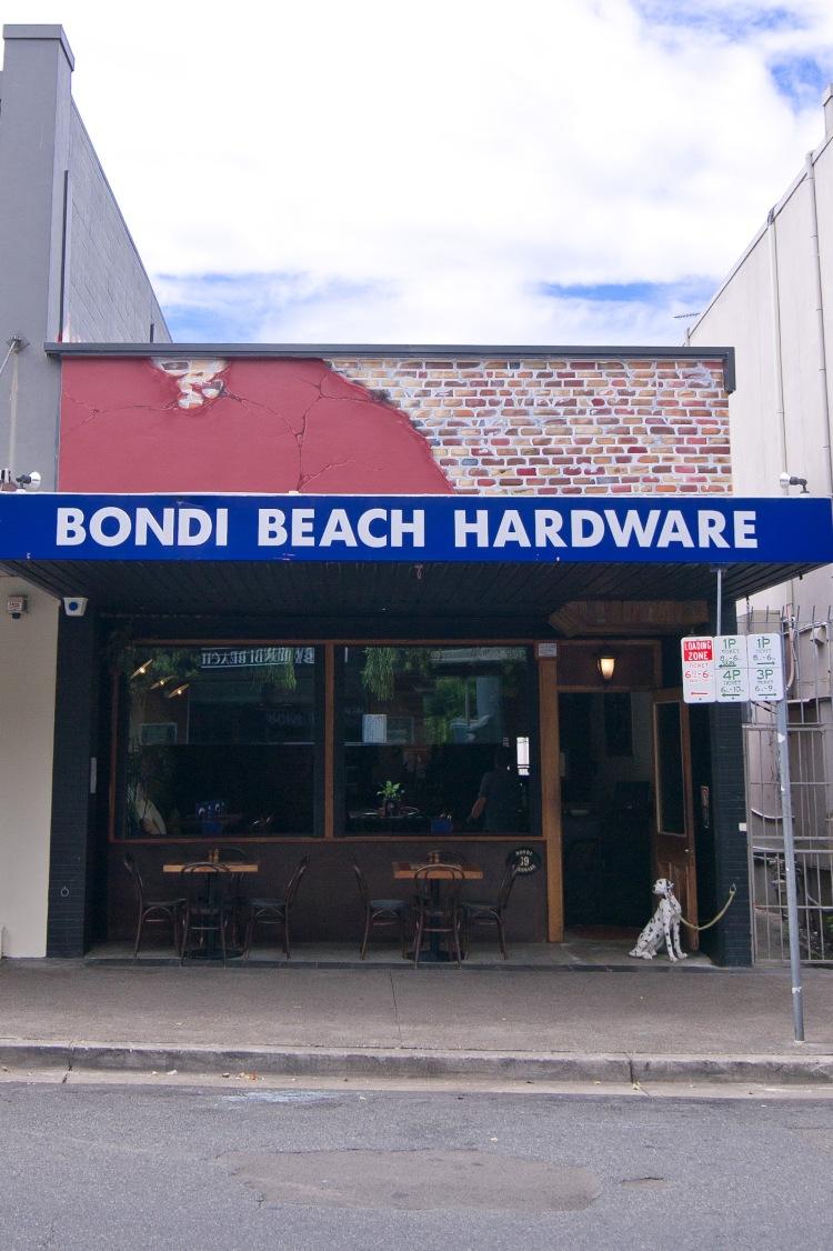 Bondi Hardware Exterior