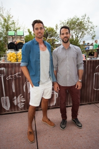 David Seale & Fabio Roberto. Summer at The House, Opera Bar VIP launch event. Photographer: Xiaohan Shen.