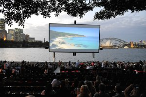 "ST GEORGE OPENAIR CINEMA'S OPENING NIGHT 2013 PREMIERE OF ""TRACKS"" MRS MACQUARIES POINT, SYDNEY FRIDAY 10TH JANUARY, 2014 PHOTOGRAPHER: BELINDA ROLLAND © 2014"