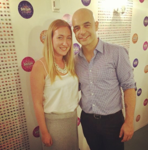 Sydney Social's Editor: Lisa Hollinshead with Adriano Zumbo